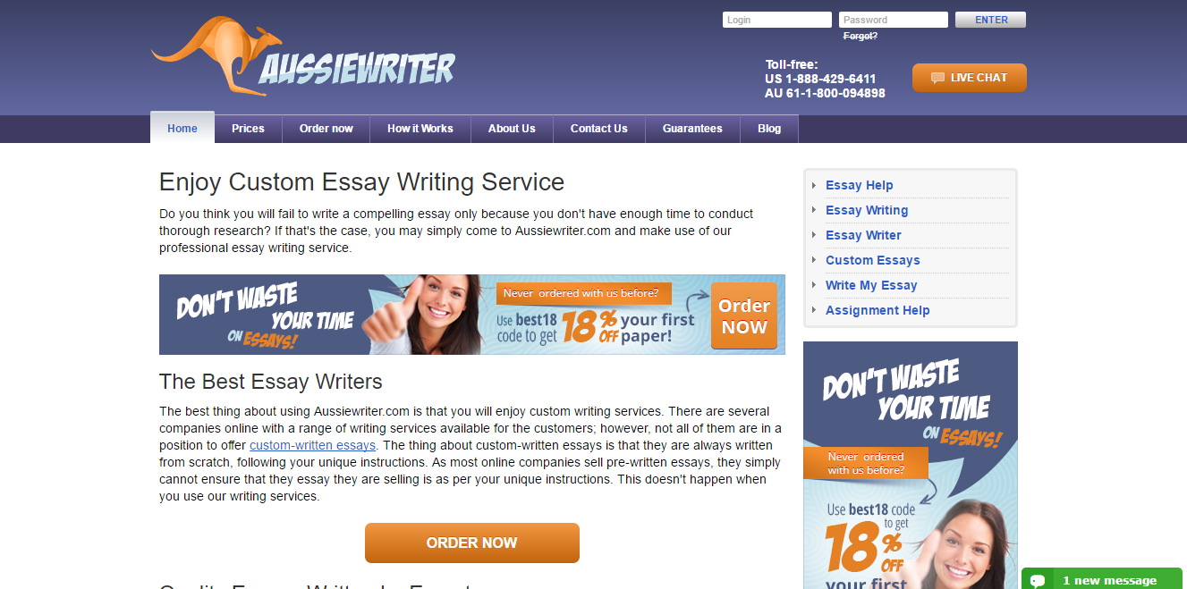 Custom essay org reviews