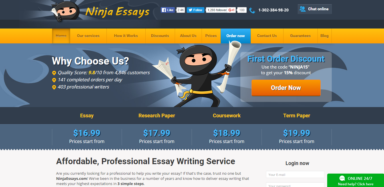 ninjaessays com review write my essays org ninjaessays com review